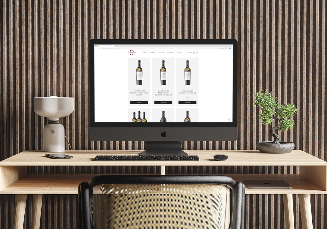 Shop Online: a Wineshop at home is a comfortable reality.